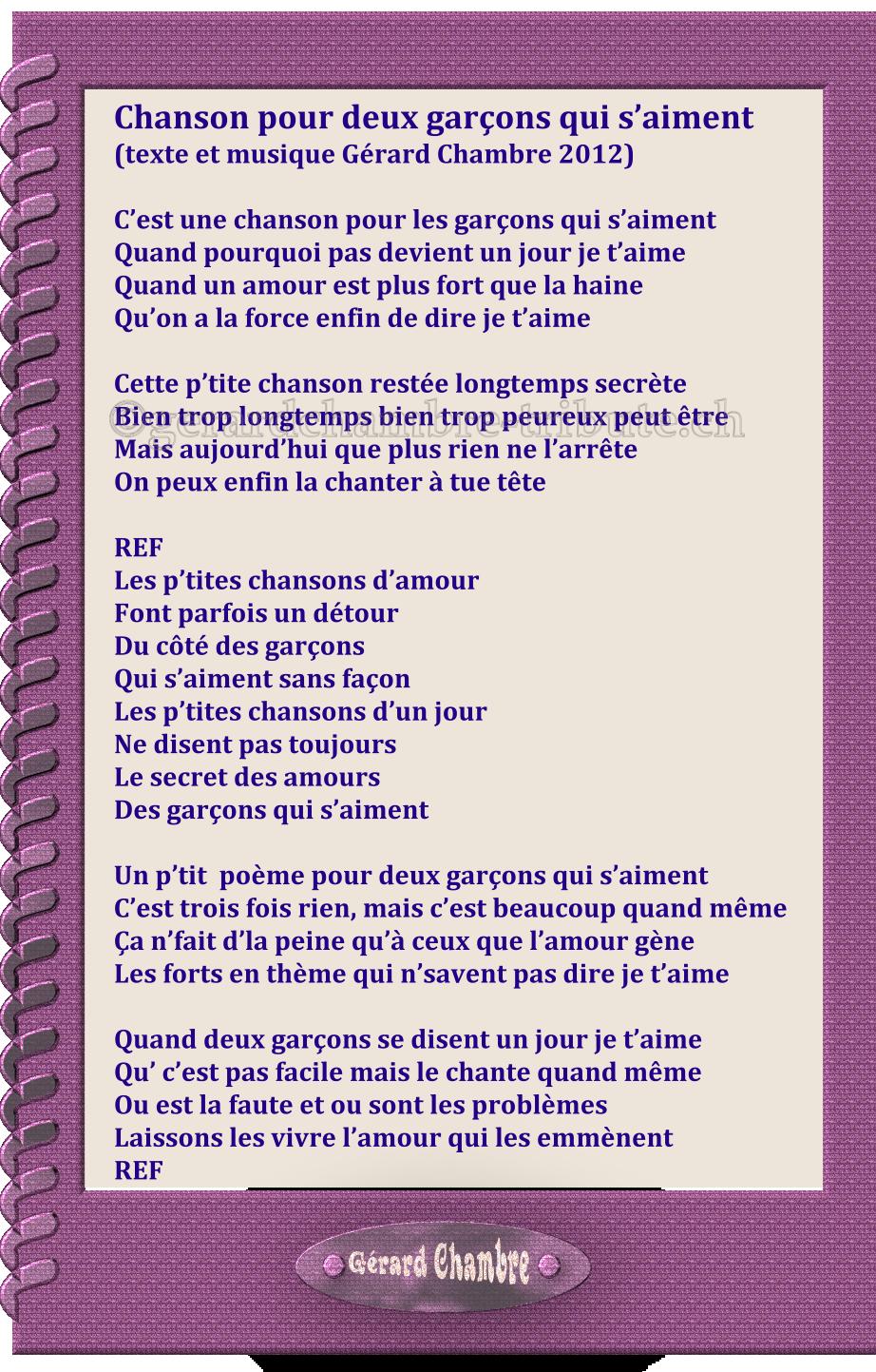 Gérard Chambrediscographiele Temps Présent