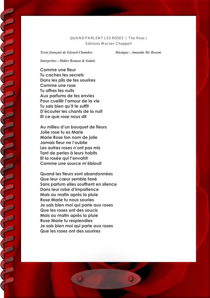 Gérard Chambre/Discographie/Gouttes De Chants